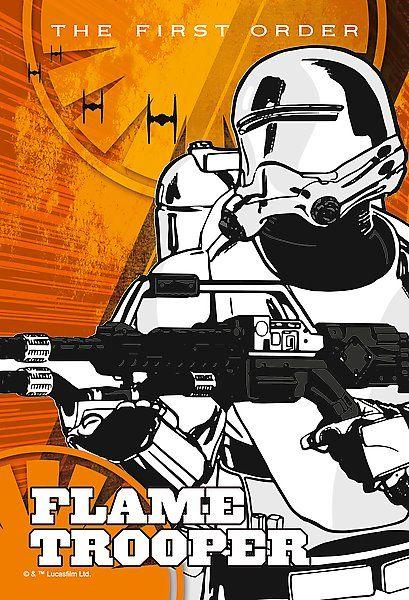 Dětské puzzle TREFL 54 dílků - Star Wars: Flametrooper
