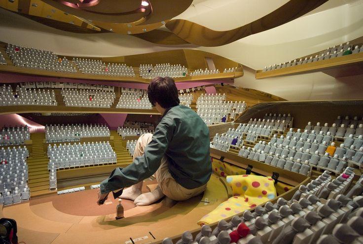 #Architectural #Model #Philharmonie #Paris #JeanNouvel
