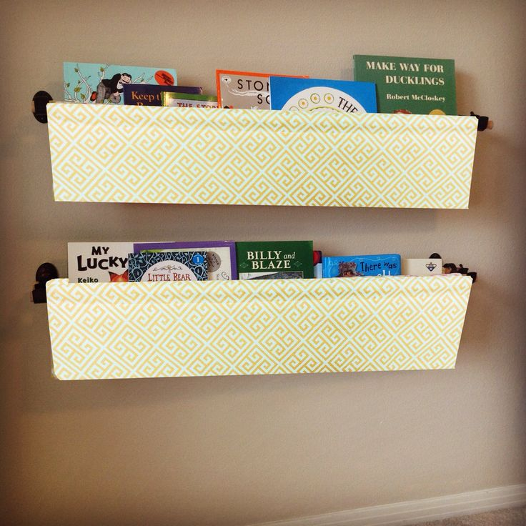 My grandkids love their book slings! They are perfect for holding books in small spaces and add a nice pop of color to any room décor. Unlike traditional bookshelves, book slings allow you to display the front of each book--helping kids see the titles and they make cleaning up a breeze. Book slings have multiple functions and can be used all throughout the house; in bedrooms, playrooms, offices, bathrooms, and even kitchens. Mount them above a baby changing table to hold diapers, in the…