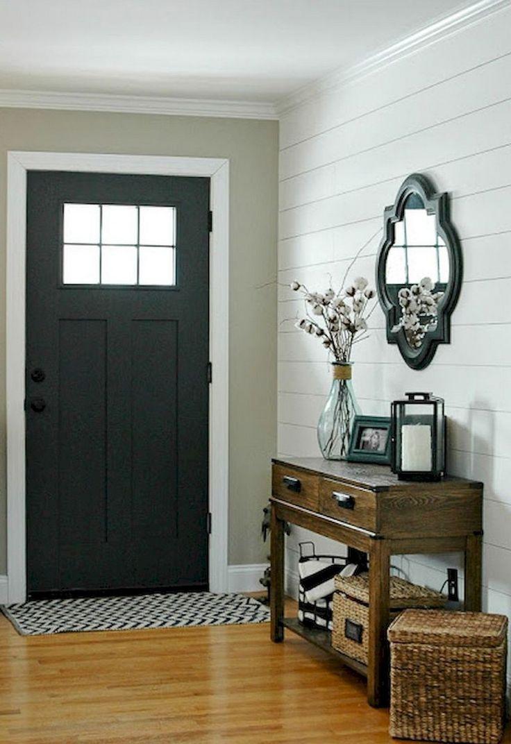 85 Marvelous Front Door Farmhouse Entrance Decor Ideas Front Entryway Decor Home Entrance Decor Front Entrance Decor