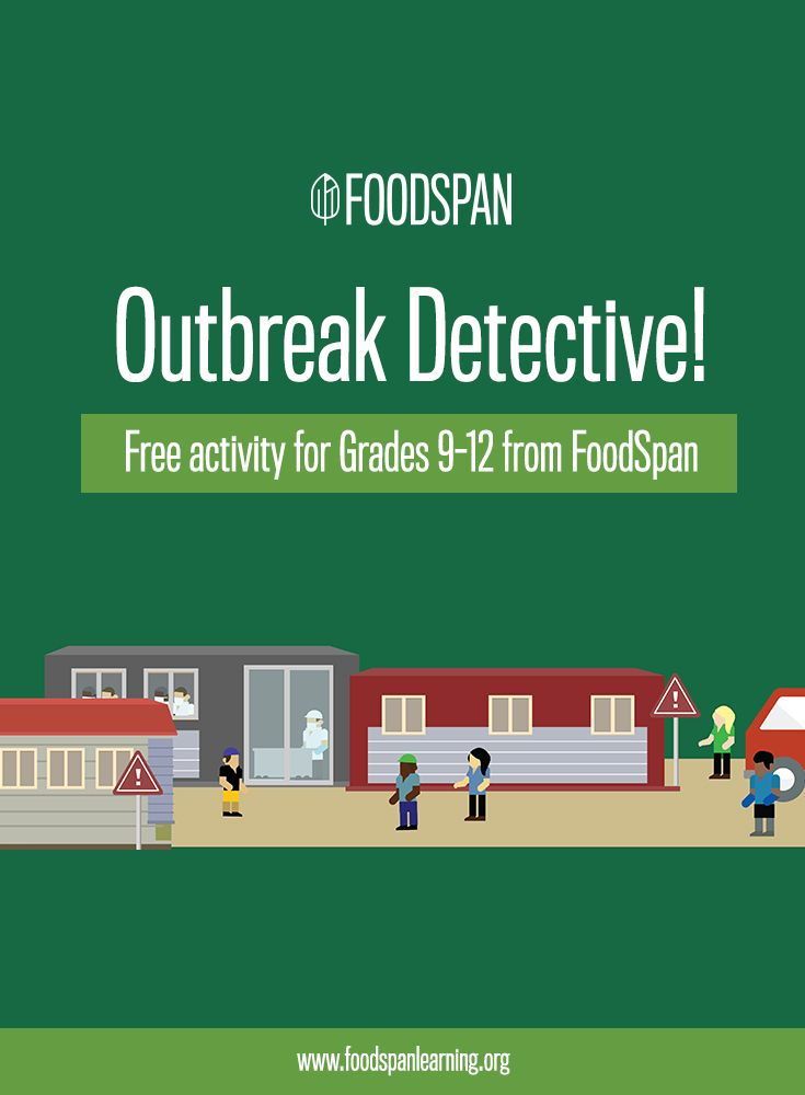 Do your students like solving mysteries? This activity asks students to use STEM & Social Studies skills to figure out which food got people got sick. Students will explore how food becomes contaminated & how to prevent and respond to food safety issues.
