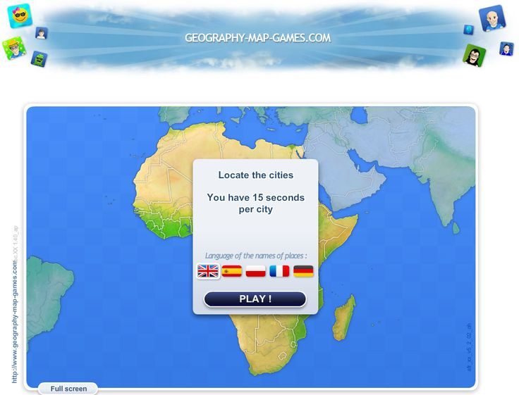 Africa Map Online Quiz