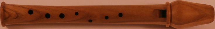 A Garklein recorder. The Garklein recorder is the smallest woodwind instrument and can produce frequencies as high as 6,172 hertz (G8 in scientific pitch notation, or a wavelength of 5.4 centimetres)