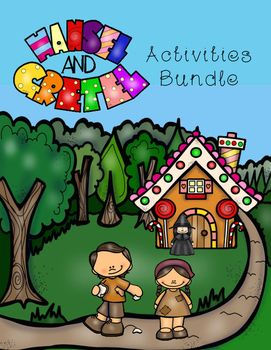Hansel and Gretel Activities is a bundle of my Hansel and Gretel products.This bundle includes the following activities: