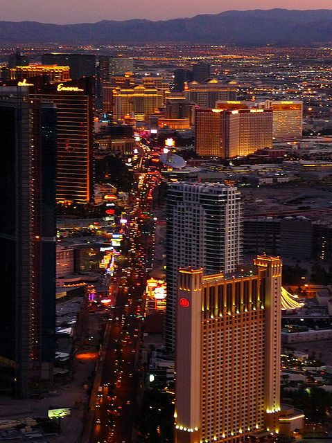 All sizes | Las Vegas Strip at Dusk from Stratosphere (P1070674) | Flickr - Photo Sharing!