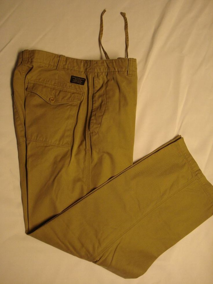 "Banana Republic Men's Khaki Pants, Size 34 x 30, ""Dawson"" #BananaRepublic #KhakisChinos"