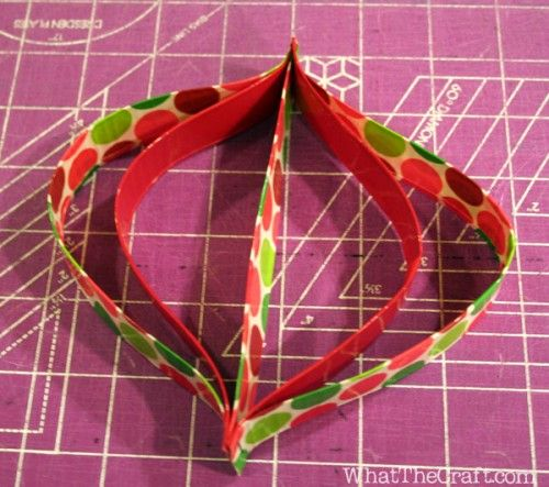 duct tape ornament for cub scouts to make for moms