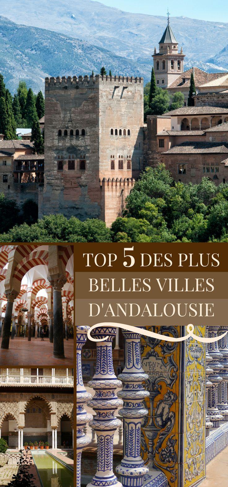 L'Andalousie est une des 17 régions d'Espagne, et l'une des plus visitées en raison de son passé culturel, de son art de vivre et de ses traditions. N'hésitez pas à partir à la découverte de ses plus belles villes ! #Espagne #Voyage #Andalousie