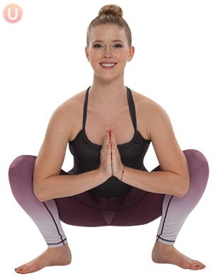 Try a yogi squat daily for increased flexibility.