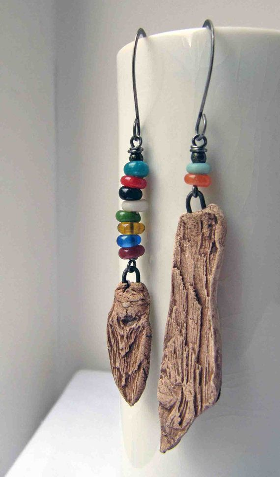 """These are not actually """"driftwood"""" they are ceramic , probably made using driftwood as a mould . It wasnt until I looked closely at the way the ring is attached that I realized they were not made of wood and on checking the listing it does say """"ceramic""""  but they are still very cool!"""