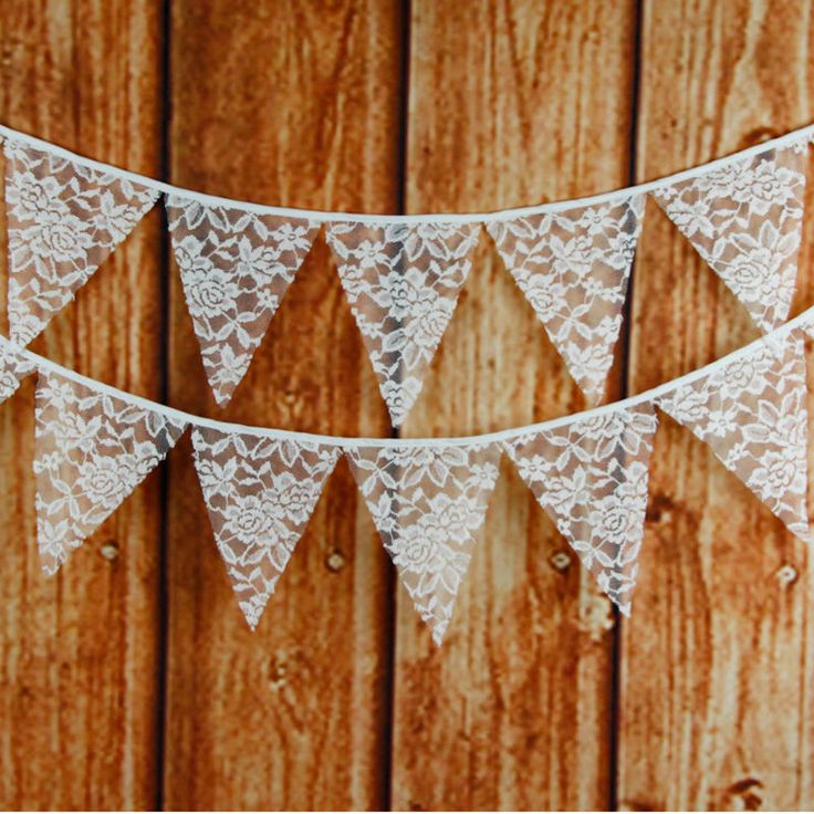 Бесплатная доставка! 12 флаги 3.2 м высококачественного белого кружева хлопчатобумажная ткань баннер флаги баннер гирлянда западные свадебные украшения купить на AliExpress