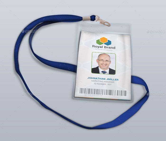 Best Id Badge Images On   Badge Design Lanyards And
