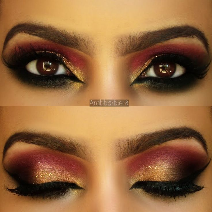 Simply gorgeous. Get this breath taking look today and level up your eye do!