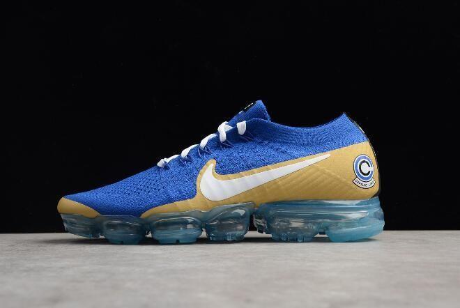 8bf490b2c9d Men  s NikeLab Air VaporMax Flyknit Sapphire Blue White-Gold AA3858-103  owsneakers.com  nike  nikes  sneakers  sneaker  sneakerhead  mensfashion   men  women ...
