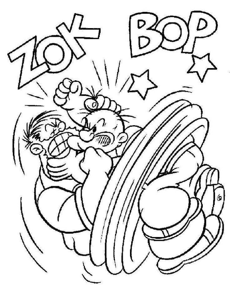 14 Best Coloring Pages Popeye Images On Pinterest