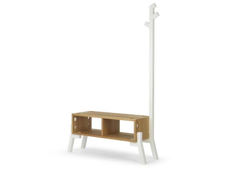 tonic mueble de entrada de madera by ames diseo reinhard dienes diaz