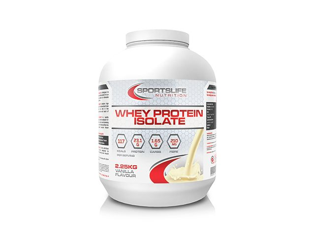 The ultimate Whey Protein Isolate, available now at www.sportslifenutrition.co.uk. Best priced and highest quality Whey Protein isolate available anywhere
