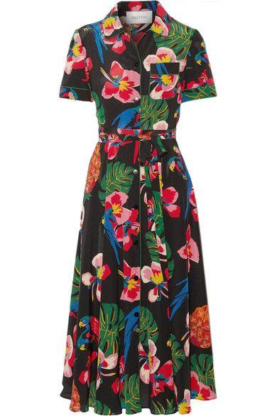 Valentino Tropical Dress via NET-A-PORTER