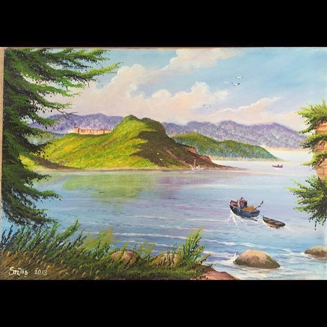 ✨Giresun Ada'sı ✨ 50x70 Tuval Üzeri Yağlı Boya.  #resim #tablo #sergi #resimsergisi #ressam #yağlıboya #oilpainting #sanat #ankara #izmir #istanbul #art #artwork #fineart #vscocam ✨Bu Esere Sahip Olmak İçin; Okan Sartaş 05074409494✨ #drawing #canvas #ig_turkey #turkeyinstagram #turkeyartist #artofdrawing #ig_art #giresun #turkey