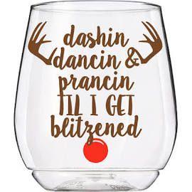 Christmas Wine Glass, Funny Christmas Gift, Christmas Hostess ...