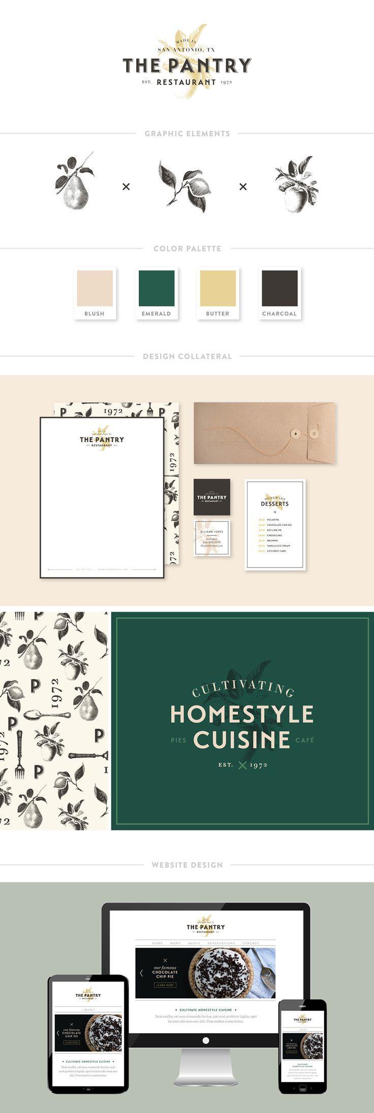 Portfolio: The Pantry Branding