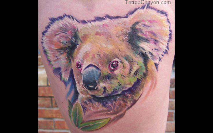 11065-off-the-map-tattoo-tattoos-color-koala-tattoo-design-1920x1200 ...