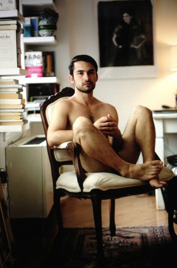 Femdom club naked waiter