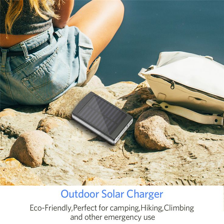 Bakeey 5x18650 Dual USB Solar Energy Camping Flashlight 20000mAh Battery Case Power Bank Box