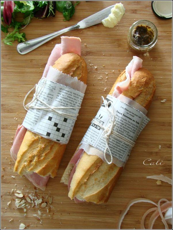 Sandwich Jambon-Beurre de Truffe aux Amandes 001