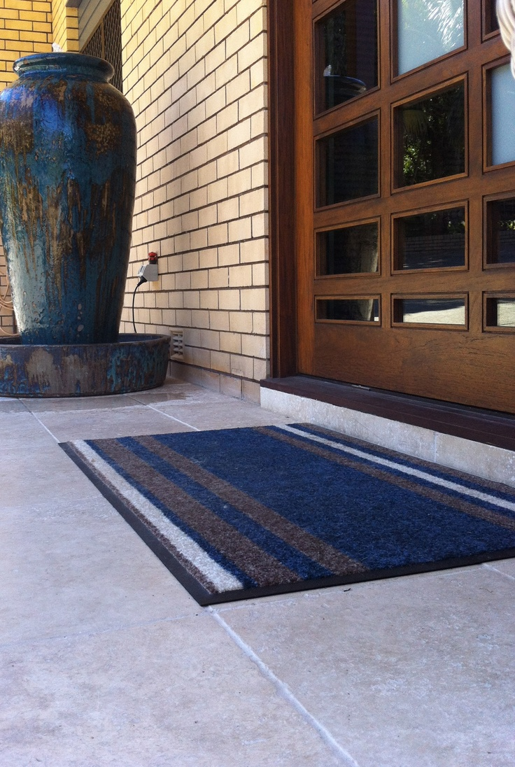 Whitney ii amp tiffany kitchen other by wood mode fine - This Is Trish S Modern Adoremat Doormat Designed To Co Ordinate With Her Entrance Features
