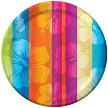 Aloha Summer 7-inch Paper Plates 8 Pack by Creative Converting. $3.49. Manufactured to the Highest Quality Available.. Design is stylish and innovative. Satisfaction Ensured.. Creative Converting is a leading manufacturer and distributor of disposable tableware including high-fashion paper napkins plates cups and tablecovers in a variety of solid colors and designs appropriate for virtually any event