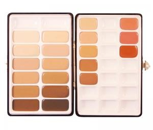 Eve Pearl HD Cream Foundation. This pro artist palette is on my wish list! It also comes with her famous salmon concealers and 3 cream blushes!