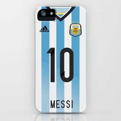 World Cup 2014 - Argentina Messi Shirt Style iPhone & iPod Case by Maximilian San - $35.00 Soccer, argentinian