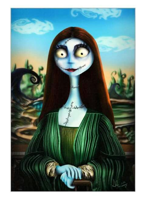 Nightmare before Christmas - Gioconda