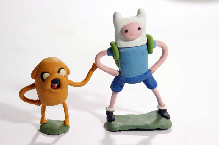 Jake y Finn de Hora de Aventura