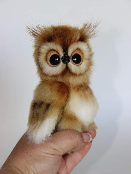 owlet Lucy By Averina Olesya - Bear Pile