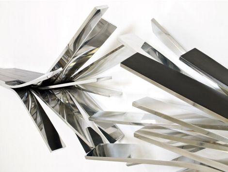 déconstructivisme, Vincent Dubourg, étagère (détail)