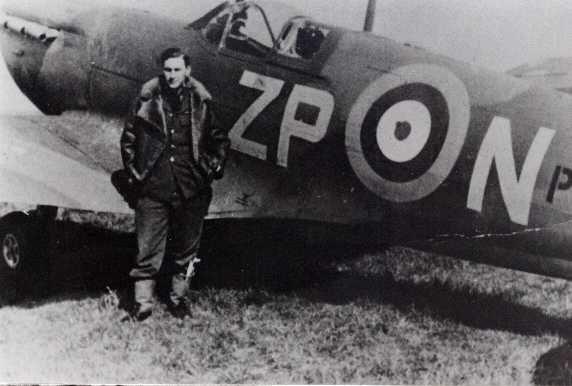 Supermarine Spitfire Mk.I, ZP-N, 74 Squadron RAF, pilot P/O Sandman, 1940/41