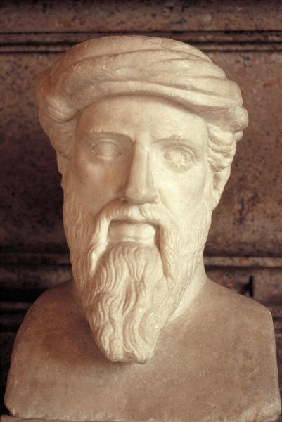 PITHAGORAS OF SAMOS ANOTHER DISTINGUISHED GREEK MATHEMATICIAN & PHILOSOPHER