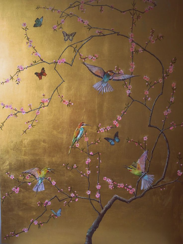 Ruth Winding: Bee-eaters, blossoms and butterflies