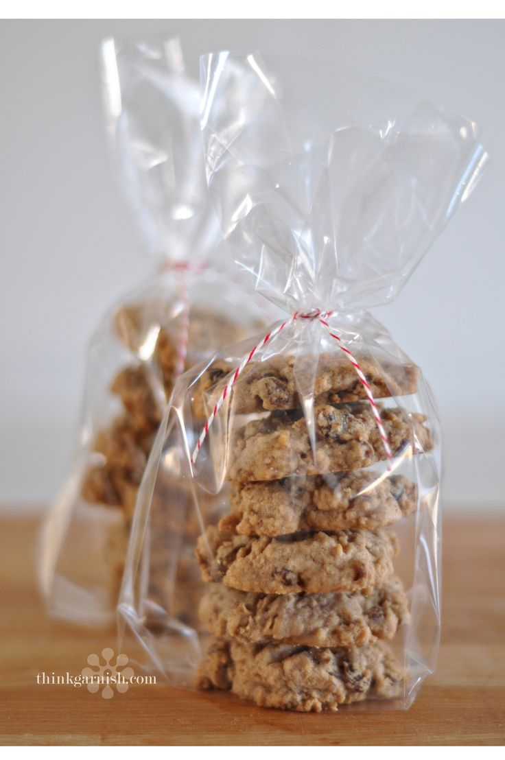 cookie wrap | Party lunch box | Pinterest | Christmas bags ...