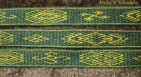 Doubleface Oseberg motifs (Micky Schoelzke)