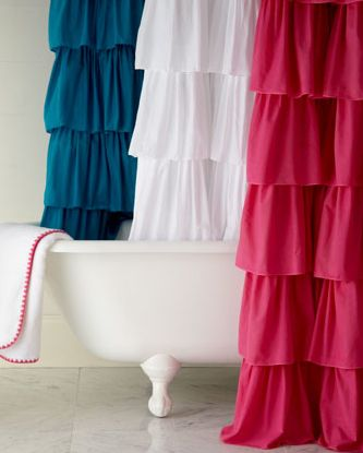 Shop Ruffle Shower Curtain From India Rose At Horchow, Where Youu0027ll Find  New Lower Shipping On Hundreds Of Home Furnishings And Gifts.