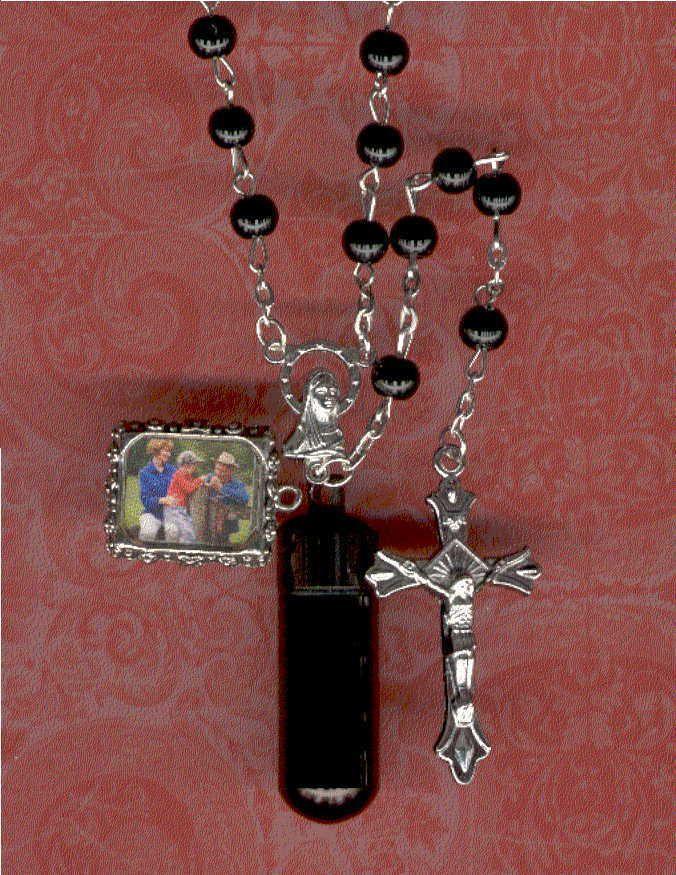 RS1,Rosary,Jewelry Urn,Memorial Urn,Keepsake Urn,Cremation Urn,Key Chain Urn #SmallCremationUrns