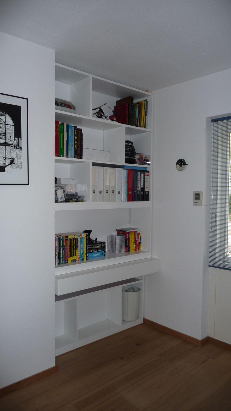 Boekenkast werkkamer