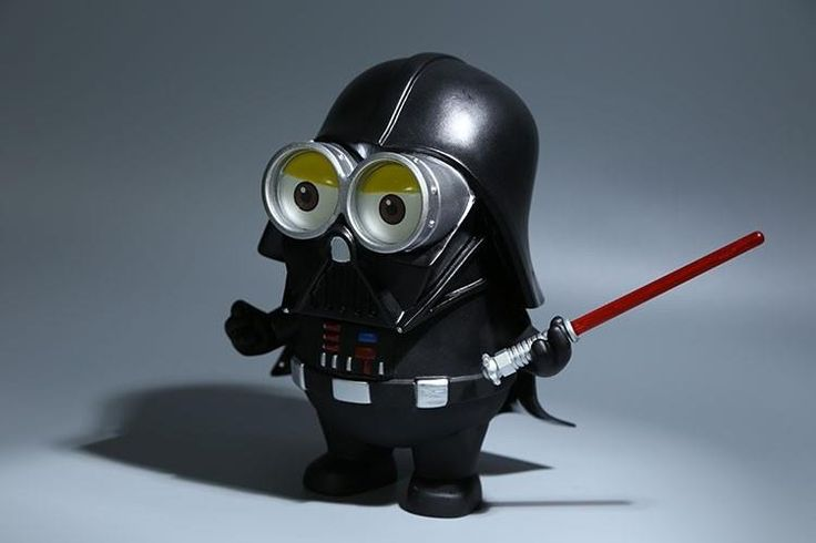 Dumma Mig Darth Vader Docka 20cm (Dispicable Me, Minions + Star Wars) på
