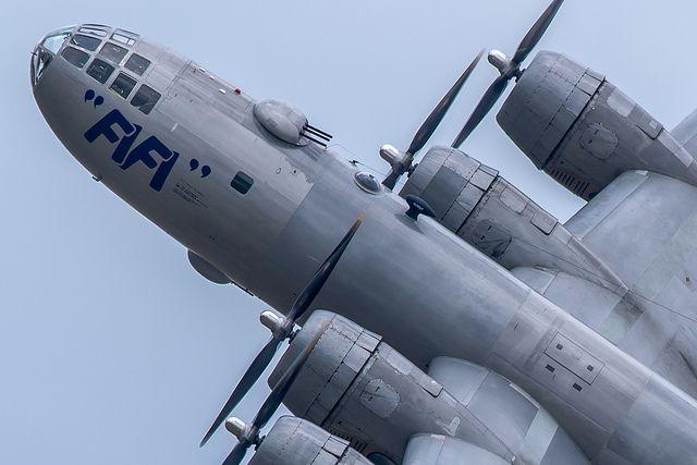 "toocatsoriginals:  "" B-29 Superfortress - ""Fifi""  Photo: Rich Judd - Blindman Shooting  """