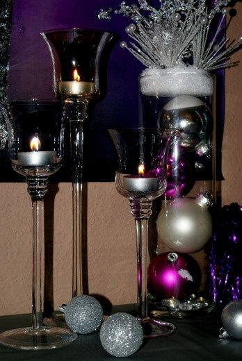 New Years Decor from Christmas Decor! #DIY #Party