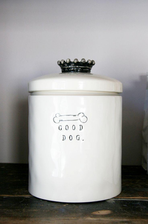 Behind the brand mungo maud dog treat jar dog
