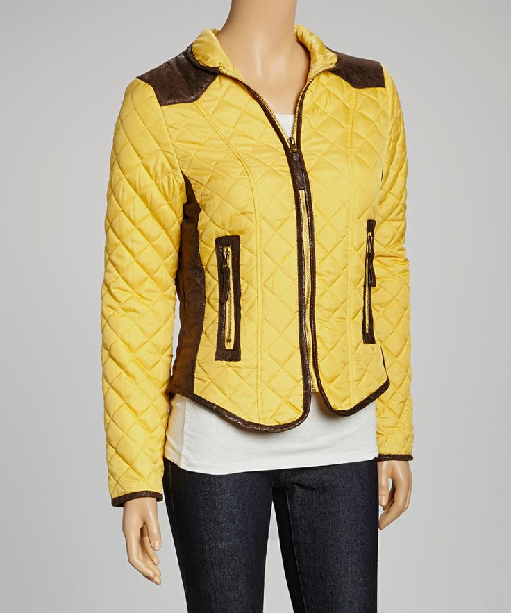 Mustard Puffer Jacket - Women | Daily deals for moms, babies and kids
